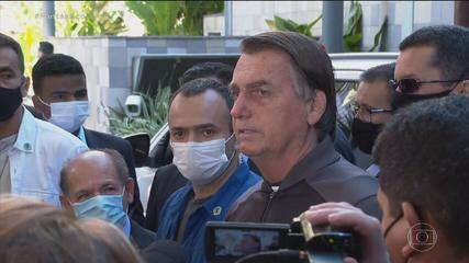 Após internação em São Paulo, Bolsonaro tem alta de hospital e volta a Brasília