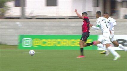Melhores momentos: Athletico-PR 2 x 0 Palmeiras pela 6ª rodada do Brasileirão sub-20