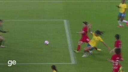 Melhores Momentos: China 0 x 5 Brasil pelo Futebol Feminino nas Olimpíadas de Tóquio 2020
