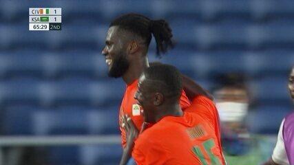 Os gols de Costa do Marfim 2 x 1 Arábia Saudita pelo Futebol Masculino nas Olimpíadas de Tóquio 2020