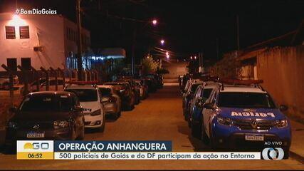 Policiais realizam operação no Entorno do DF