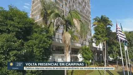 Covid-19: servidores públicos de Campinas são convocados ao trabalho presencial
