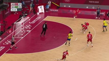 Melhores momentos: Noruega 27 x 24 Brasil pelo handebol masculino nas Olimpíadas de Tóquio