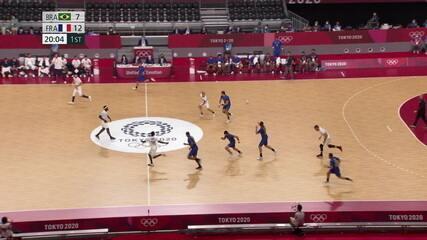 Melhores momentos: Brasil 29 x 34 França pelo handebol masculino nas Olimpíadas de Tóquio