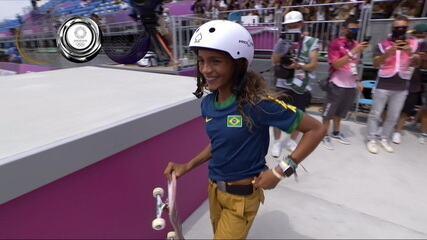 Funa Nakayama erra e Rayssa Leal garante a medalha de prata