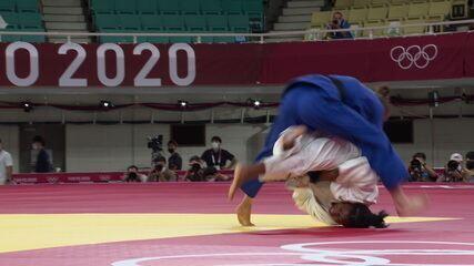 Sarah Cysique é desclassificada e Nora Gjakova garante o ouro no judô até 57kg