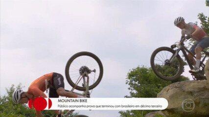Atletas reclamam de pista perigosa de mountain bike