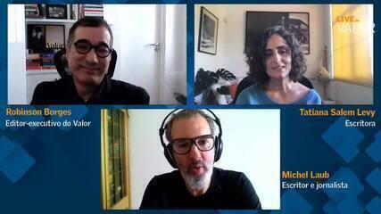 Tatiana Salem Levy e Michel Laub debatem na live do Festival EU& a relação entre passado e