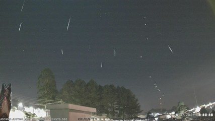 Chuva de meteoros é registrada em SC