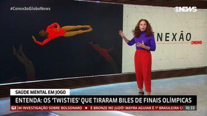 Entenda o que são os 'twisties' que tiraram Simone Biles das finais olímpicas