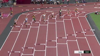Chayenne da Silva fica na 8ª posição do 400m com barreiras
