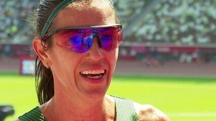Simone Ferraz comenta sobre seu desempenho nos 3000m com obstáculos - Olimpíadas de Tóquio
