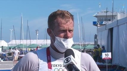 """Na sétima participação em Olimpíadas, Robert Scheidt revela sentimento com resultado: """"Me sentindo frustrado"""""""