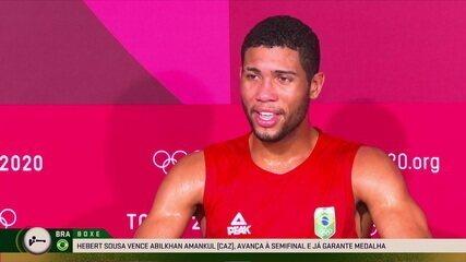 """Hebert Conceição manda recado para a torcida brasileira: """"Vamos mudar a cor da medalha"""""""