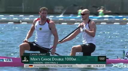 Inacreditável! Bendel e Hecker batem recorde olímpico da prova anterior do C2 1000m; Isaquias e Jack também vão à final - Olimpíadas de Tóquio