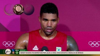 """""""Ninguém gosta de perder"""", diz Abner Teixeira após ficar com medalha de bronze - Olimpíadas de Tóquio"""