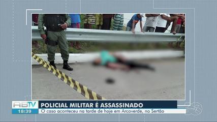 PM morre após ser baleado em Arcoverde