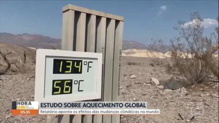 Relatório aponta os efeitos das mudanças climáticas no mundo