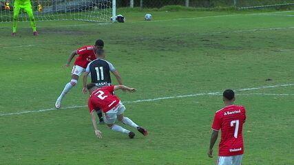 Melhores momentos: Botafogo 3 x 2 Internacional, pelo Campeonato Brasileiro sub-20