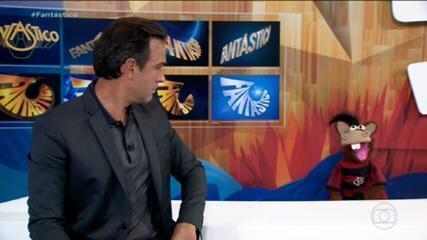Gols do Fantástico: Flamengo vence Sport e cola no G-4
