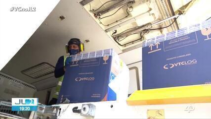Pará recebe mais de 44 mil doses de vacina contra a Covid-19