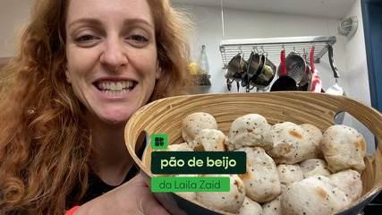 Laila Zaid ensina a fazer pão de beijo