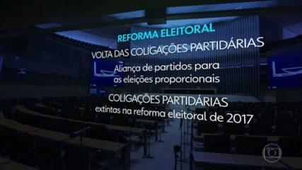 Câmara conclui votação a favor da PEC que retoma coligações partidárias; texto vai ao Senado