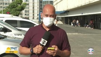 Vigilante é baleado em frente a hospital em Paulista