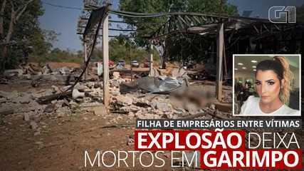 VÍDEO: Filha de empresários morre durante explosão de dinamites em garimpo em MT