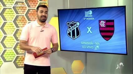 Ceará encara Flamengo pela Série A