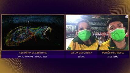 Emocionados, Evelyn Oliveira e Petrúcio Ferreira mandam recado para o Brasil
