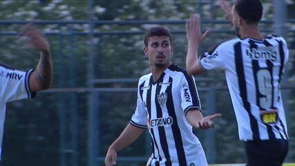 O gol de Atlético-MG 1 x 0 Internacional pelo Campeonato Brasileiro Sub-20