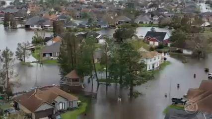 Furacão Ida causa estragos em Luisiana, nos EUA