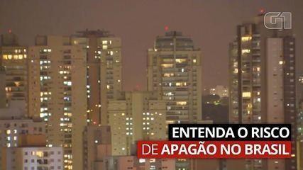 VÍDEO: Entenda o risco de apagão no Brasil