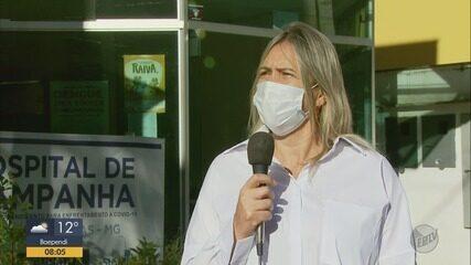 Hospital de Campanha de Poços de Caldas fecha leitos de UTI para tratamento da Covid-19