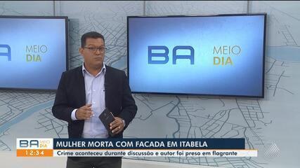 Mulher é morta a facadas no município de Itabela; confira
