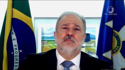 Augusto Aras diz ao STF ser contra a tese do Marco Temporal
