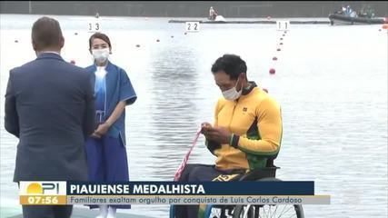Familiares exaltam orgulho por conquista de piauiense Luís Carlos Cardoso em Paralimpíadas