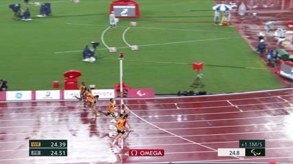 Thalita Simplicio gana la plata en los 200m en T11 y Girosa dos Santos gana el bronce - Juegos Paralímpicos Tokio