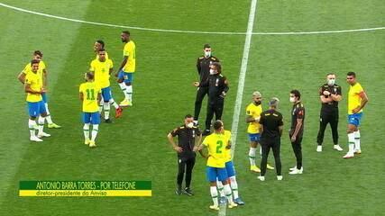 Diretor-presidente da Anvisa explica motivo de paralisação de Brasil x Argentina