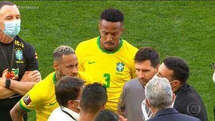 Anvisa suspende Brasil x Argentina por descumprimento de regra