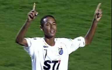 Os gols de Santos 3 x 0 Mogi Mirim pela 14ª rodada do Paulistão 2009
