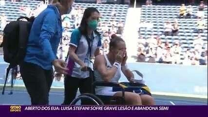 Bruno Soares é vice do Aberto dos EUA, e Luisa Stefani se lesiona