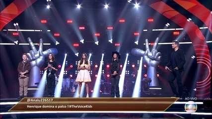 O público salva uma voz e Teló escolhe um participante para seguir no 'The Voice Kids'
