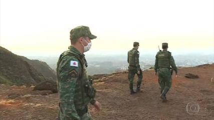 Força-tarefa vai combater fogo em áreas de vegetação de MG