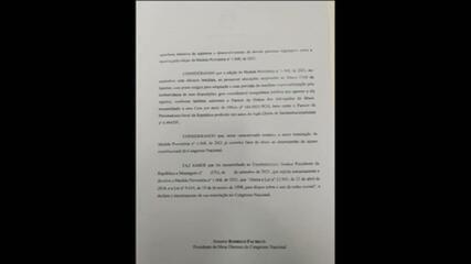Pacheco devolve MP de Bolsonaro que altera o Marco Civil da Internet