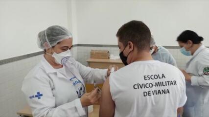 ES começou vacinação de adolescentes contra Covid-19