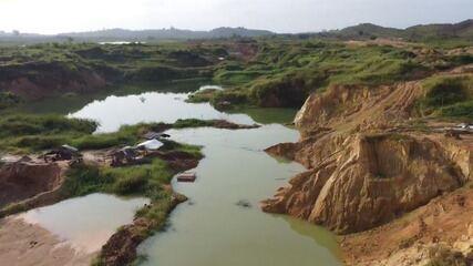 Operação da PF mira garimpo ilegal em Centro Novo do Maranhão