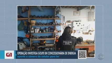 Operação investiga fraude contra concessionária de energia em Gramado Xavier