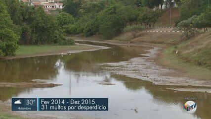 Multas por desperdício de água em Valinhos superam as aplicadas na crise hídrica de 2014